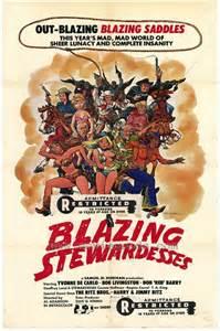 Blazing Stewardesses one sheet