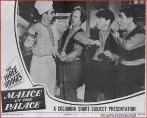 Curly's last TRUE film appearance (yes, the man holding the cleaver IS Curly!)