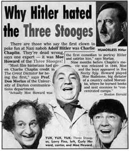 Why Hitler Hated the Three Stooges