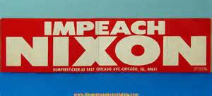 Impeach Nixon Bumper Sticker