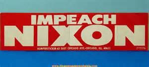 Impeach Nixon Bumper Sticker