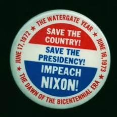 Impeach Nixon Button