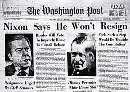 Nixon Impeachment Washington Post