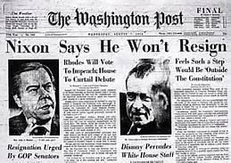 Nixon Impeachment Washington Post
