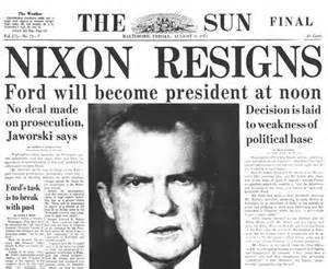 Nixon Resigns 1