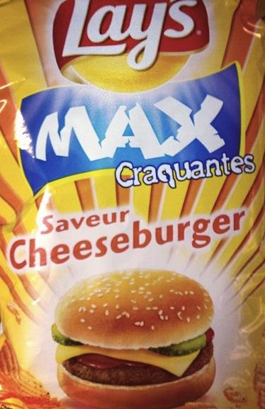 cheeseburger potato chips
