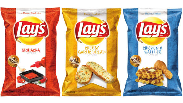 new-lays chip flavors