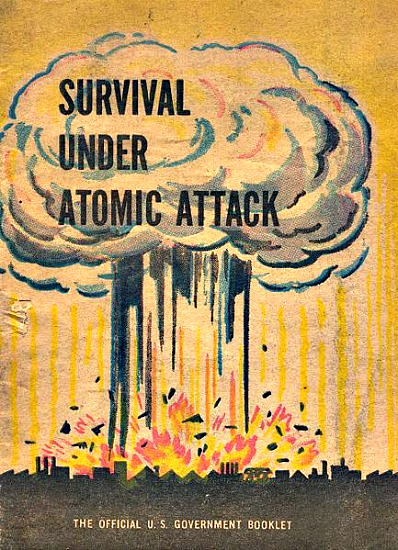 Survival Under Atomic Attack booklet